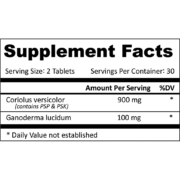 Pro-Immune Gold supplement facts square