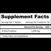 Pro-Liver & Pancreas supplement facts square